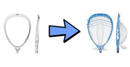 How to String a Goalie Head
