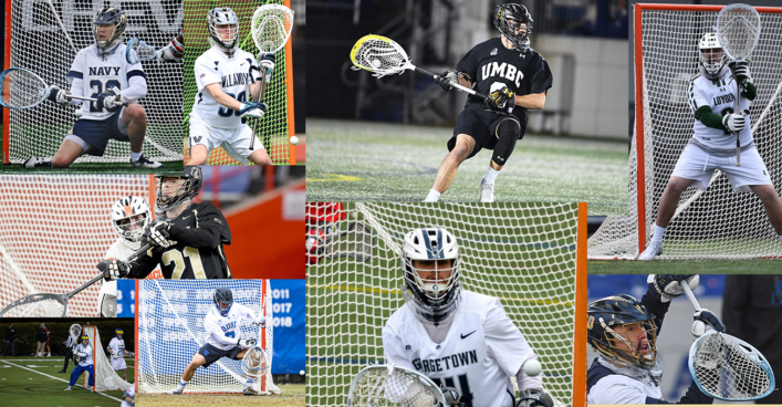 2021 Men's NCAA Division 1 Top 20 Goalie Stick Setups