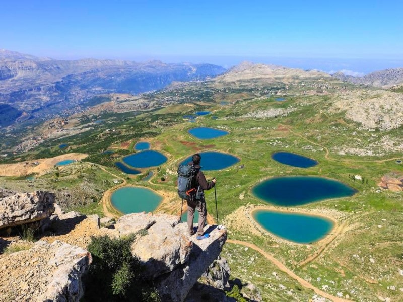 Akoura lakes Lebanon Expedition tour