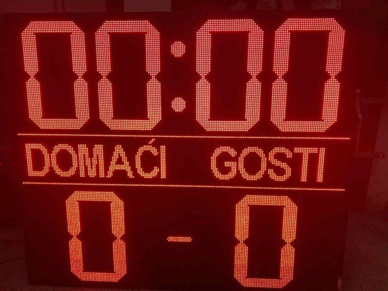 sportski semafor za fudbal FK Lovćenac 3