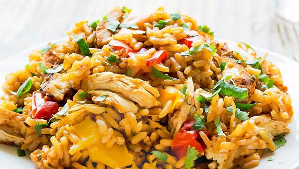 Instant Pot Chicken Rice Recipe