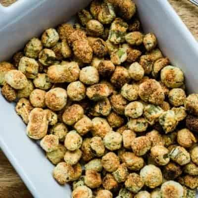 Crunchy Oven-Fried Okra: So good you may never pan fry okra again!