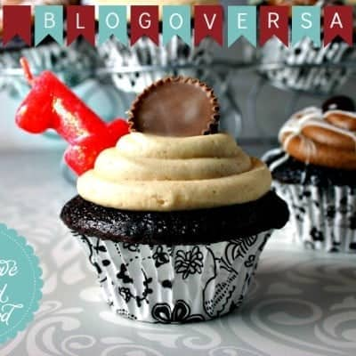 My 1st Blogoversary and Mocha Cupcakes!