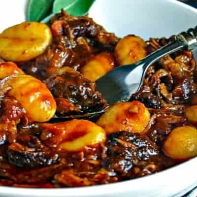 Braised Beef Short Ribs with Gnocchi