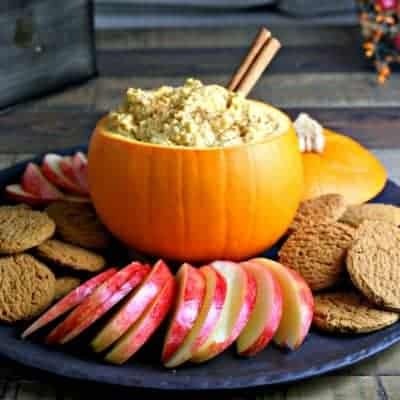 Pumpkin Mascarpone Dip
