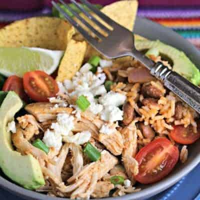 Tex-Mex Chicken Burrito Bowl
