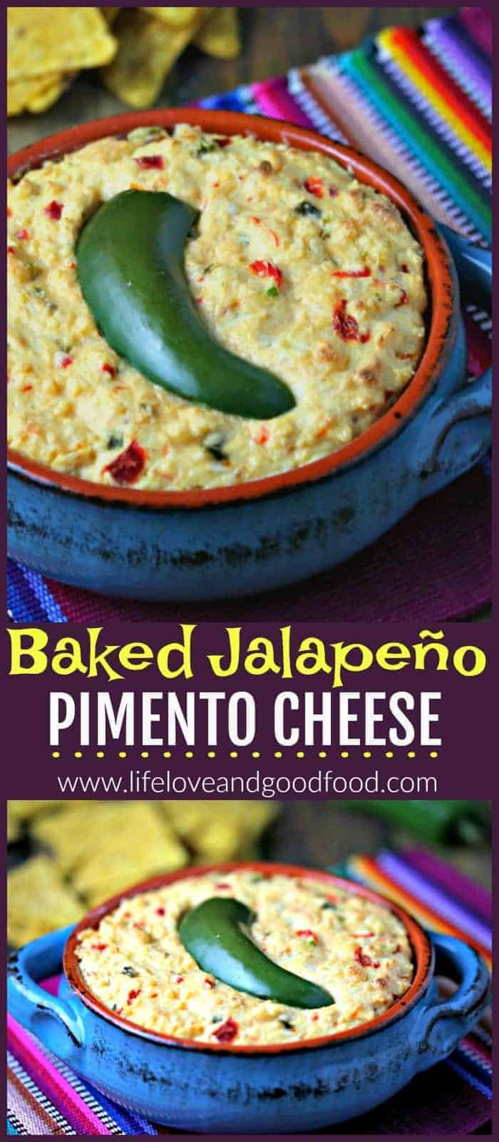 Baked Jalapeño Pimento Cheese   Life, Love, and Good Food