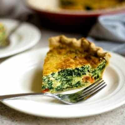 Spinach Quiche – Perfect for Breakfast, Brunch, or Dinner!