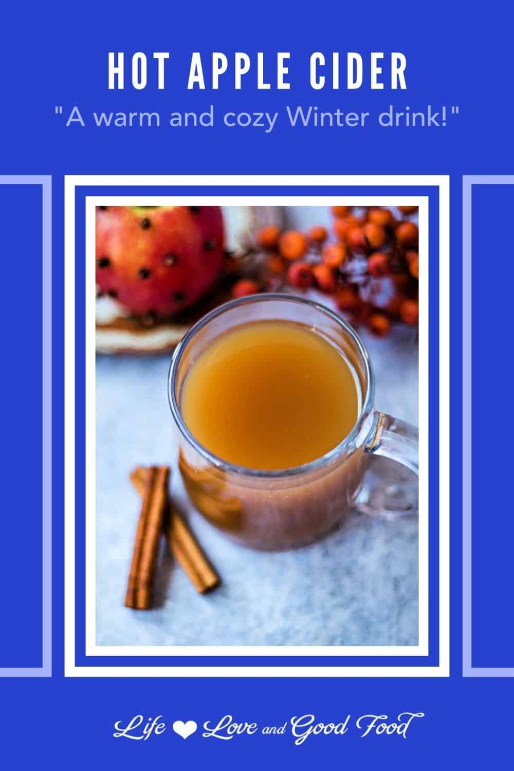 This easy Hot Apple Cider recipe makes a tasty non-alcoholic hot drink flavored with cinnamon, cloves, and allspice everyone can enjoy on chilly Autumn or Winter days. A warm mug of perfectly spiced and lightly sweetened apple cider is perfect for Halloween or harvest parties, Thanksgiving, Christmas, or any time you're in the mood for a apple-flavored treat.