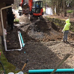 surface and subsurface drainage systems