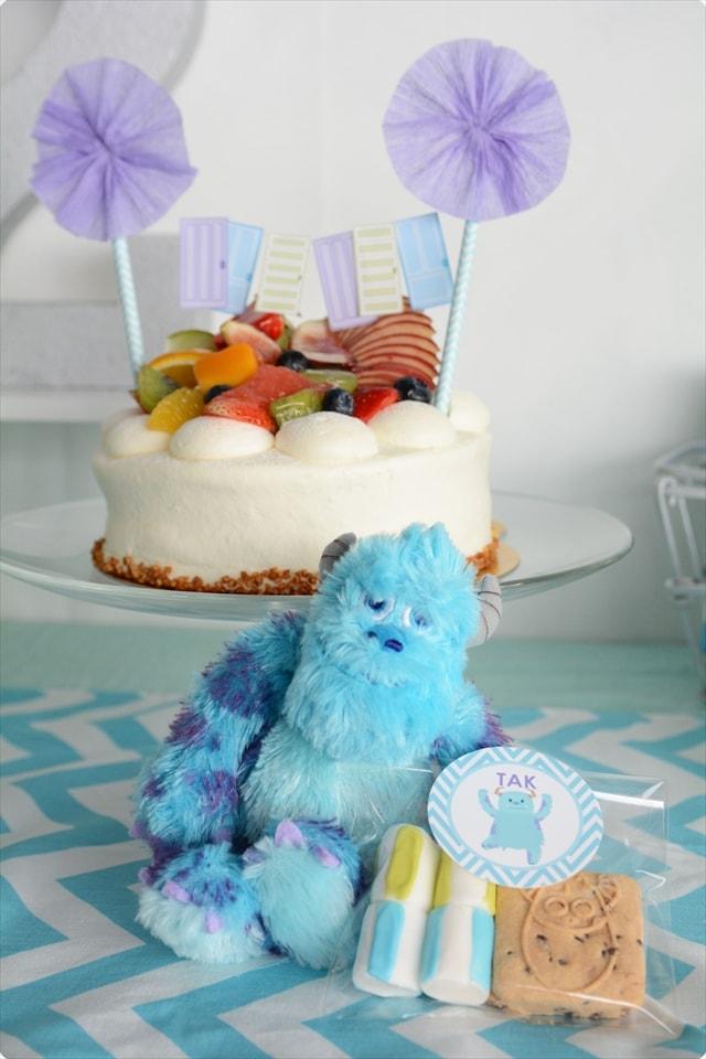 モンスターズインク テーマのお誕生日パーティー : Monsters Themed Birthday Party