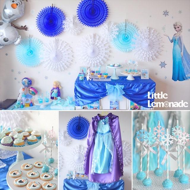 アナと雪の女王テーマのパーティーレポート : Frozen Themed Party Report