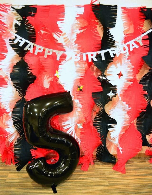 ニンニンジャー テーマのバースデイパーティー : Ninninja Themed Birthday Party