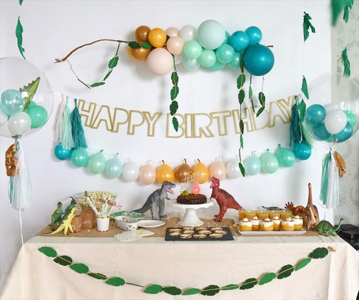 Dinosaur Birthday Party – 恐竜テーマのバースデイパーティー