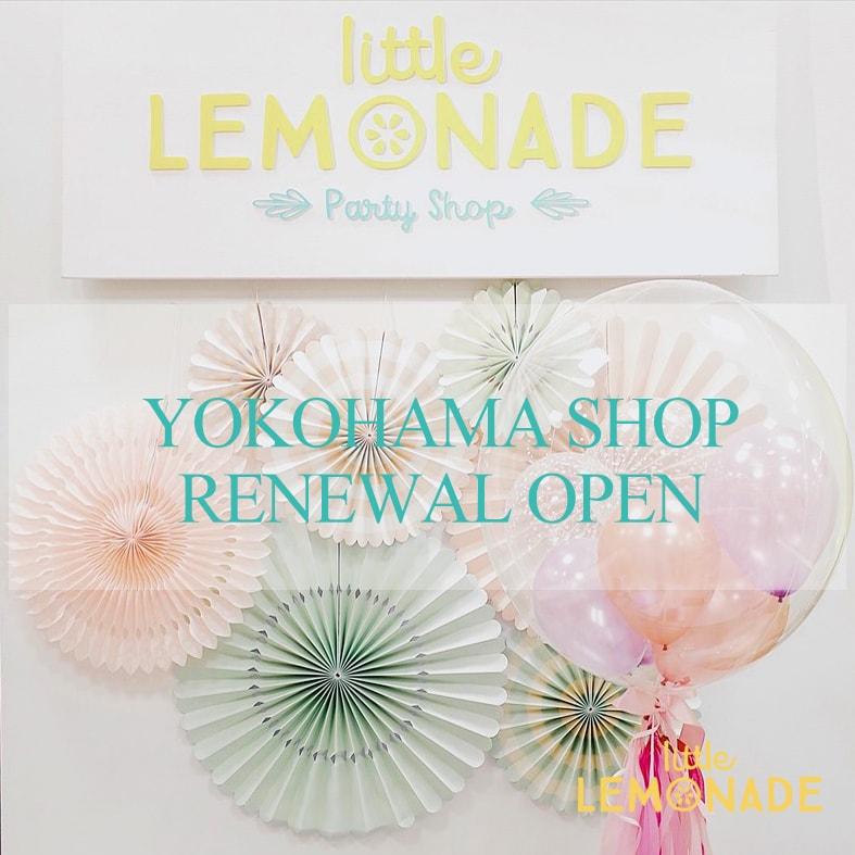 Little Lemonade実店舗 リニューアルオープン