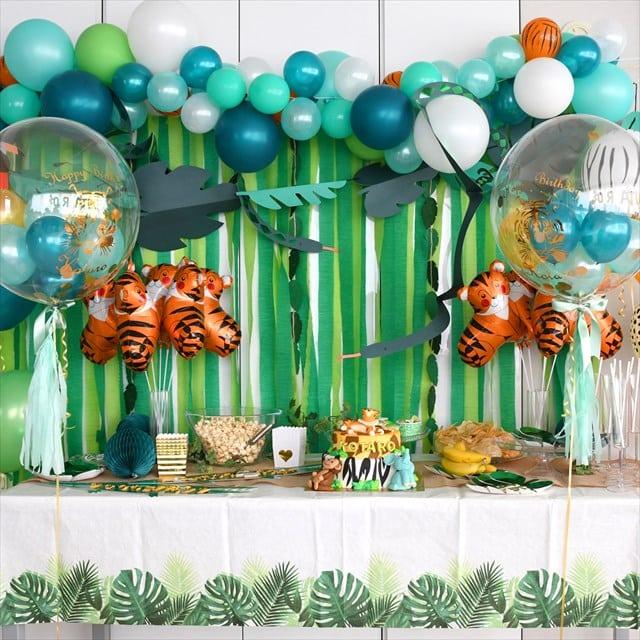 Safari Jungle Birthday Party – サファリジャングルテーマのバースデイ –