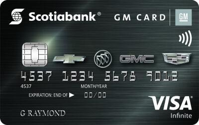 Scotiabank® GM® VISA Infinite