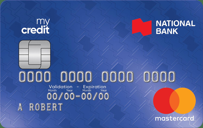 National Bank Mycredit Mastercard®
