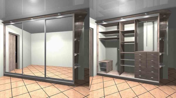 Wardrobe with Sliding Door—Glass Products in NSW