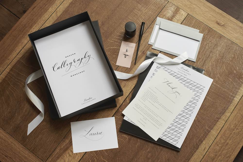 London Calligraphy Set - For Beginners