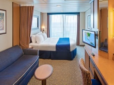 Spacious Ocean View Balcony Stateroom