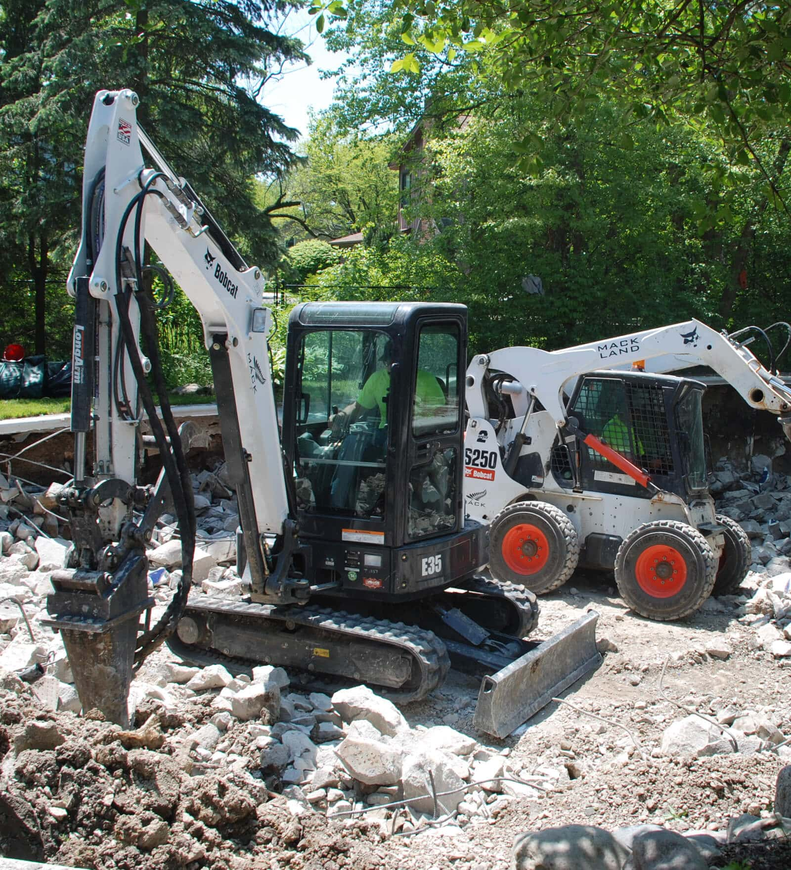 Mack Land LLC - Compact Excavator Advantages