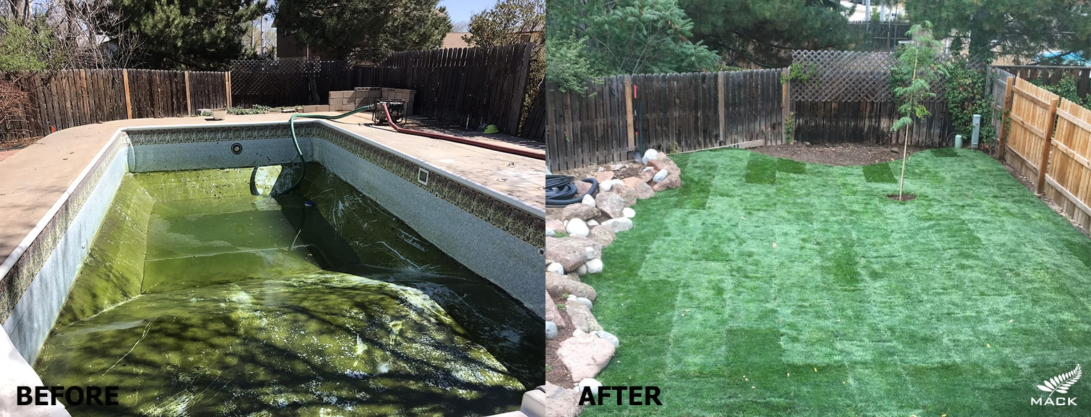Mack Land LLC - Longmont, CO Pool Removal