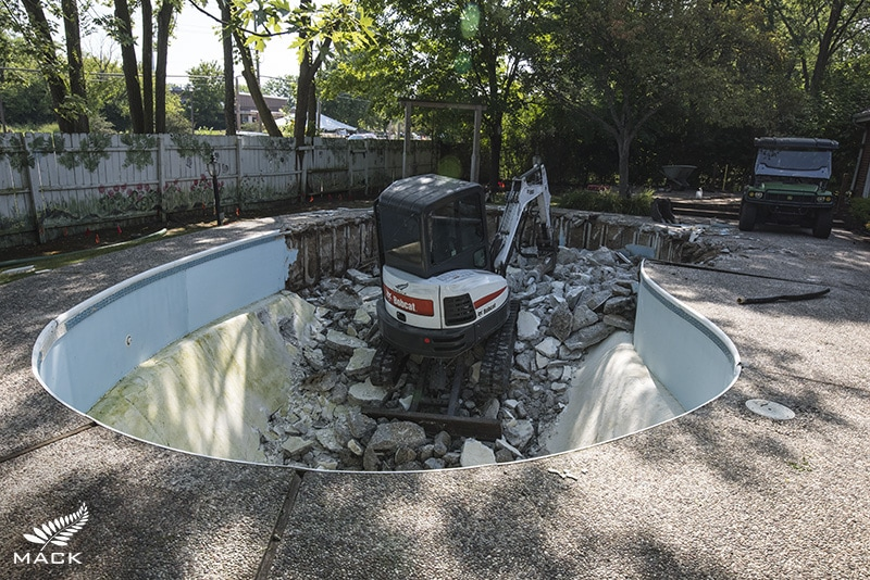 Mack Land LLC - Chicagoland Pool Removals