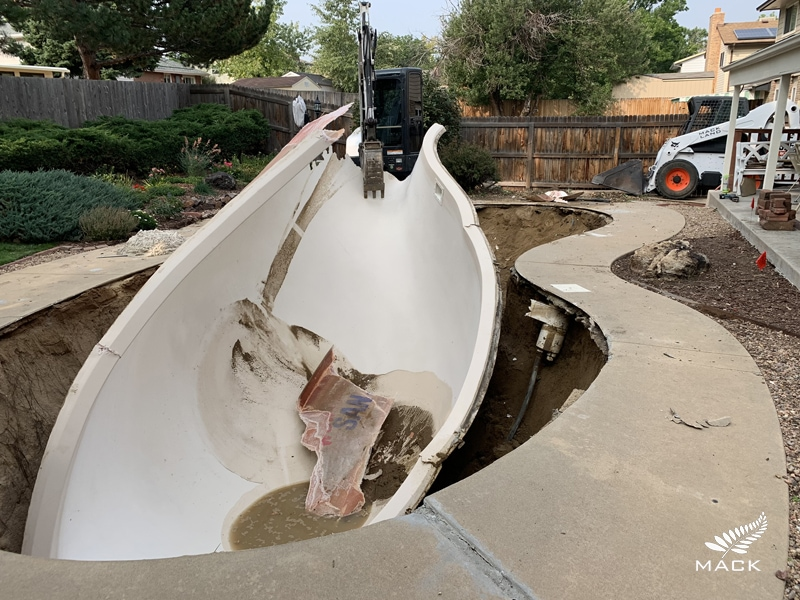 Mack Land LLC - Pool Demolition and Removal in Wheat Ridge, CO