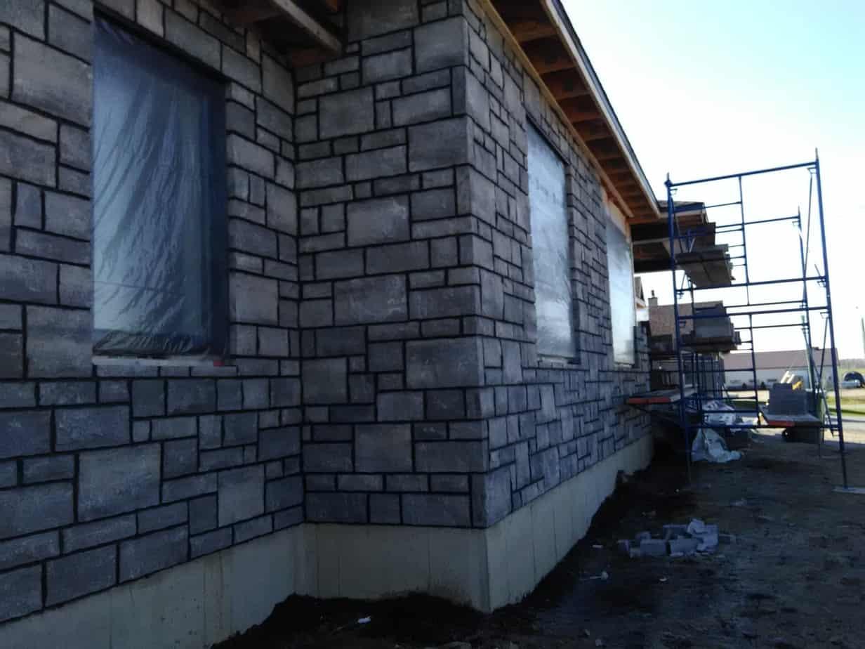 Projet de pierres en progression