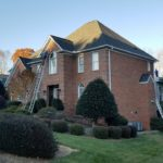 Brick Two Story Roof Replacement