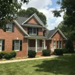 Greensboro Residential Roofing Brick House