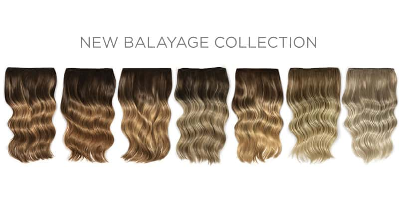 New Balayage long hair extensions
