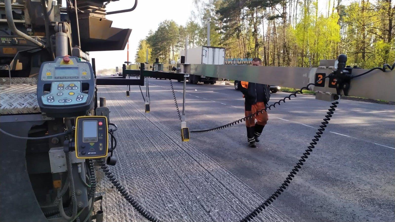 Обладнання Topcon Positioning Systems, як інструмент економії та підвищення якості дорожнього будівництва