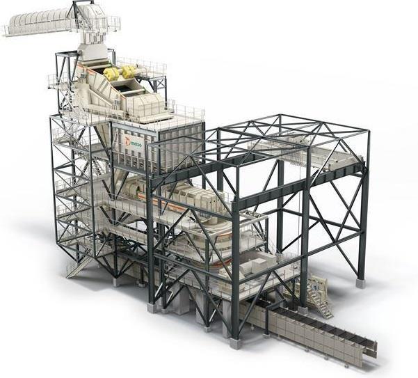 Metso презентовала принципиально новые дробильно-сортировочные установки