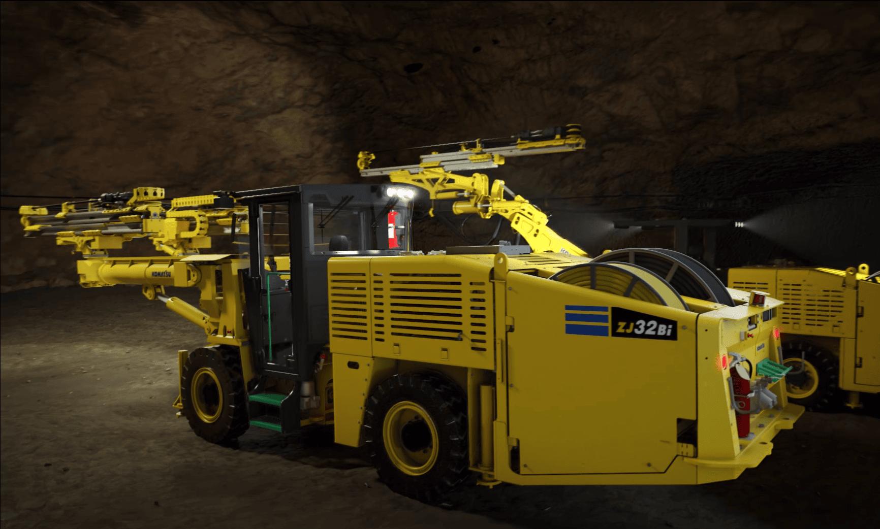 Komatsu Mining представила новую буровую установку