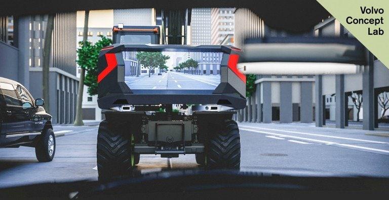 Volvo CE представила прототипелектричного колісного екскаватораз відеопанеллю