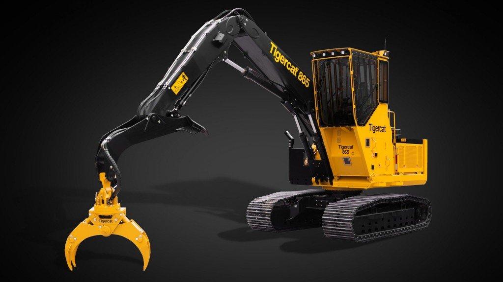 Tigercat представила прототип нової машини для навантаження і транспортування деревини
