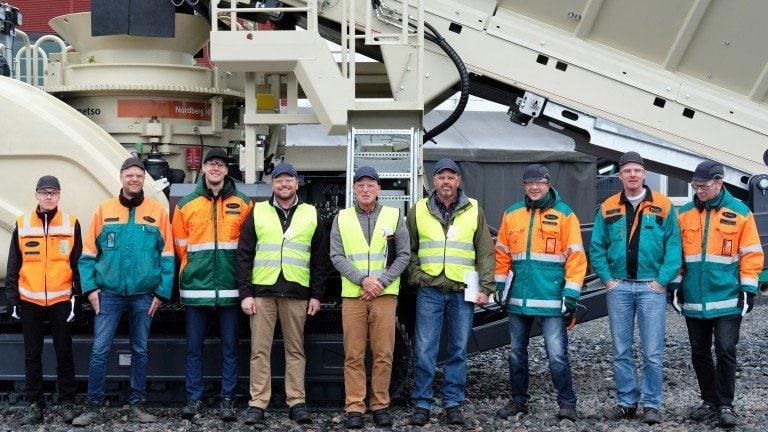 Установки Metso Outotec працюють на будівництві в Антарктиці