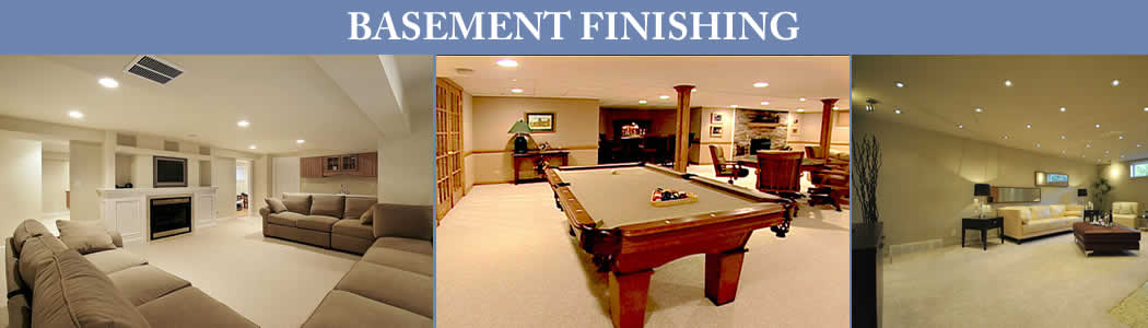 Basement Finishing Projects Banner