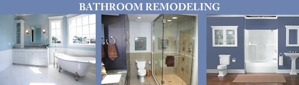 Bathroom Remodeling Projects Banner