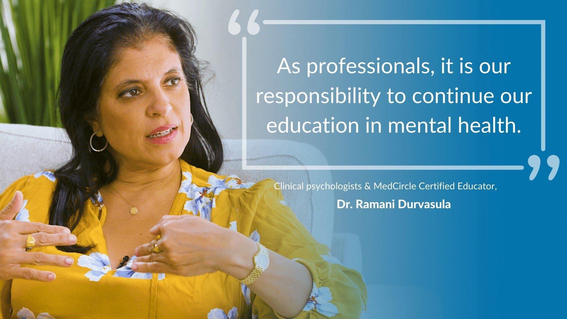 Dr. Ramani Durvasula