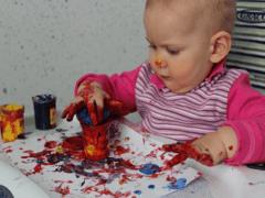 Пальчиковые краски и их приготовление в домашних условиях