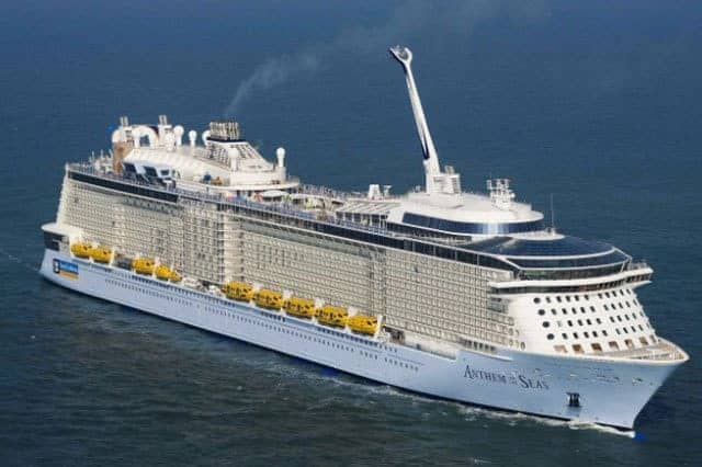 Royal Caribbean Anthem Of The Seas Cruise Liner Review
