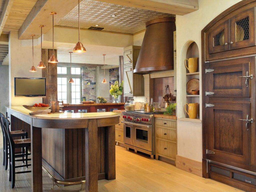 фото классических кухонь в интерьере
