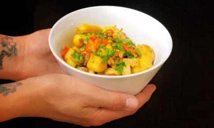 Kartoffelkonfekt an Kunterbunt