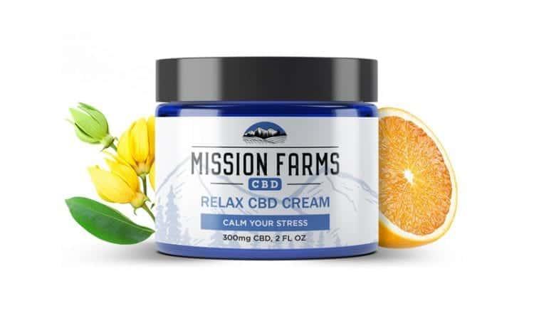 10Off Relax Hemp Cream Mission Farms CBD Discount Code
