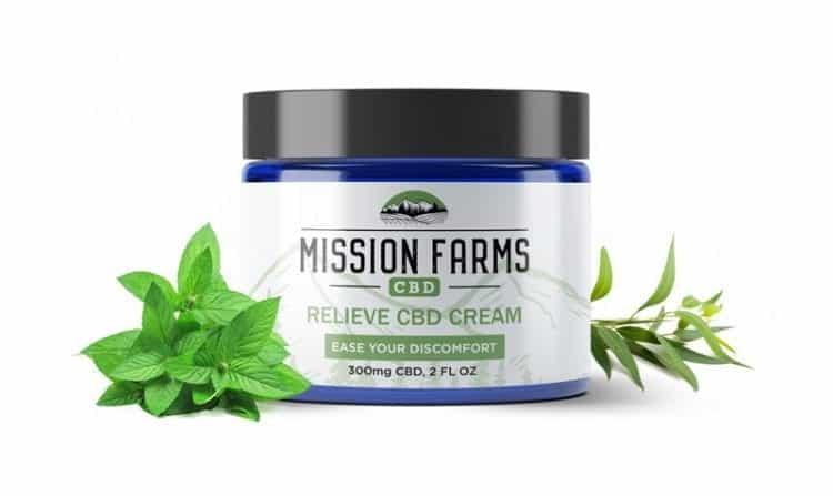 15Off Relieve Hemp Cream Mission Farms CBD Discount Code