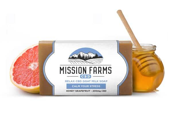 20Off RelaxGoat Milk CBD Soap Mission Farms CBD Coupon Code