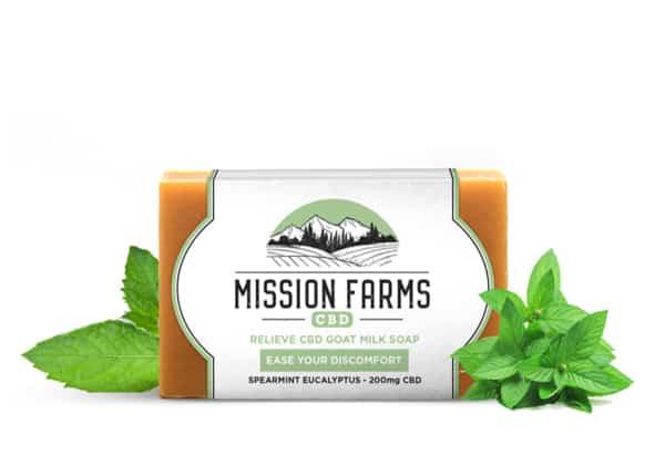 10Off RelieveGoat Milk CBD SoapMission Farms CBD Discount Code
